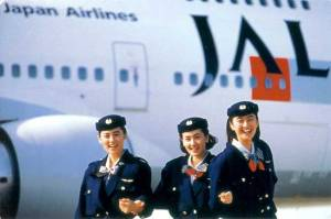 JAL-Stewardesses