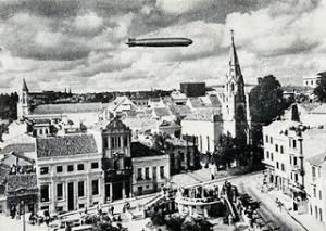 Graf Zeppelin em Porto Alegre em 1934