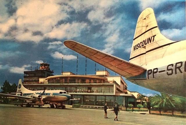 Aeroporto-de-Congonhas-Varig-1960