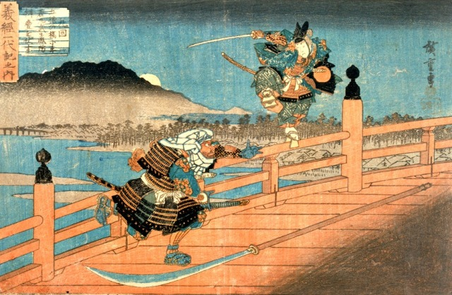 defeat-of-benkei-on-gojo-bridge