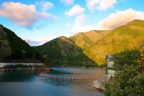 Lago em Koka, Shiga