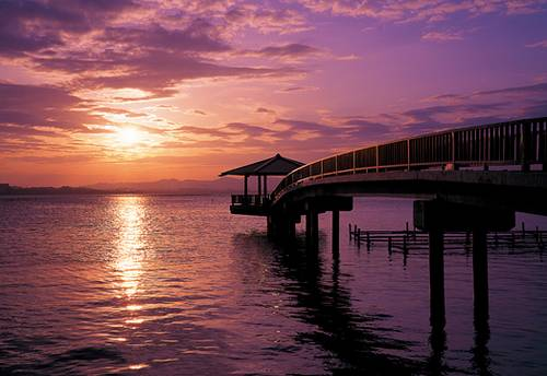 Lago Hamanako em Hamamatsu (Shizuoka) (1)