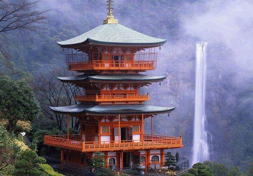 Templo e cachoeira Nachi (Wakayama)