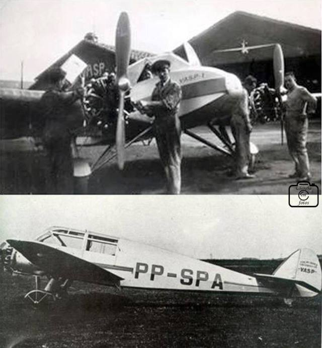 início das operações da antiga VASP (Viação Aérea São Paulo)1 - Cópia (1)